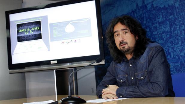 El concejal de Juventud, Diego Mejías