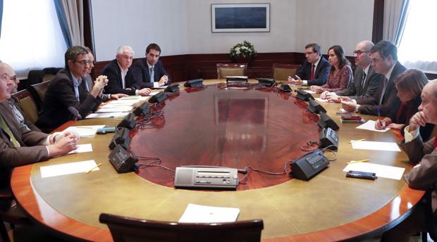 Reunión ayer de la Mesa y portavoces de Exteriores