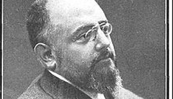 Francisco Navarro Ledesma en una fotografía de Christian Franzen (1864-1923)