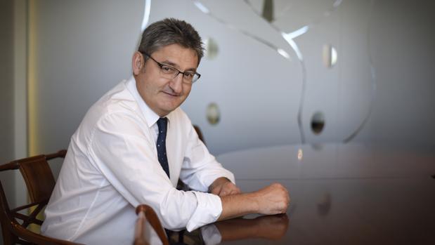 Óscar Campillo, en una imagen de archivo reciente