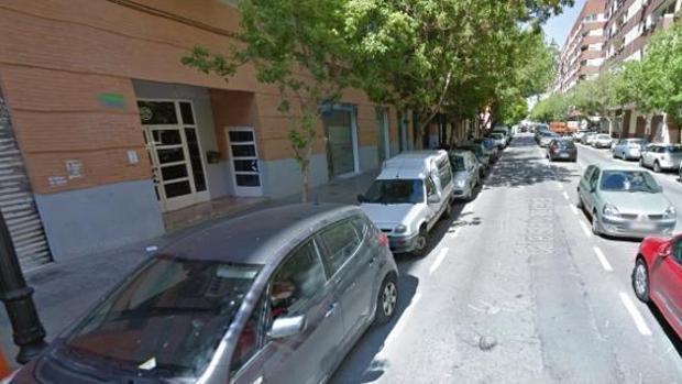 magen de la calle de Valencia en la que se registró la agresión