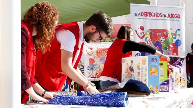 Imagwn de la presentación de la campaña en Valencia