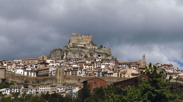 Vista panorámica de la localidad de Morella