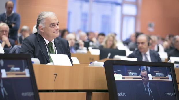 Imagen de González Pons en el Parlamento Europep