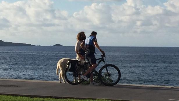 El pastor, el carnero y la Policía de Playa de la capital grancanaria