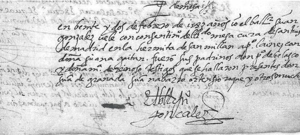 Localizados dos documentos de Juana Gaytán, esposa de Pedro Laínez
