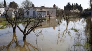 Los pueblos ribereños del Ebro advierten del alto riesgo de nuevas inundaciones