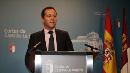 El diputado del PP, Carlos Velázquez