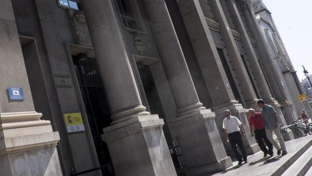 Imagen de la sede que cierra en la calle Guillem de Castro