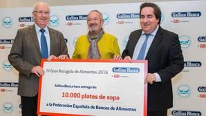 Karlos Arguiñano, padrino de lujo de la Gran Recogida de Alimentos