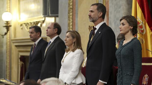 La presidenta del Congreso. Ana Pastor