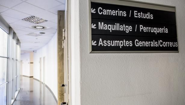 Imagen del centro de producción de programa de Burjassot tomada este jueves