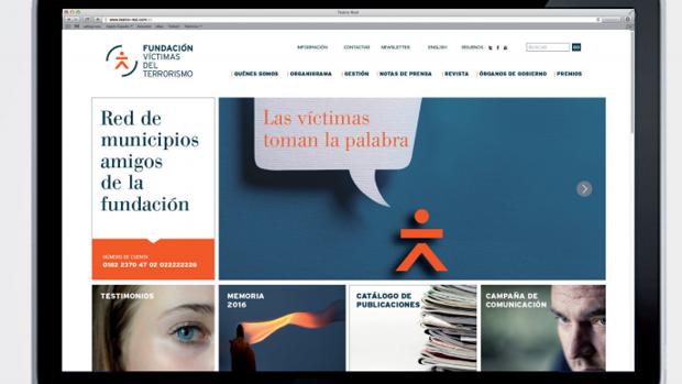 Diseño de la web de la FVT con el icono renovado