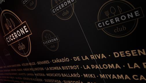 Cicerone Club: llega la clase «business» de los restaurantes