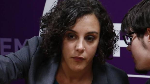 La secretaria general de Podemos Euskadi, Nagua Alba