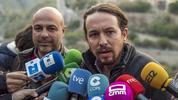 Pablo Iglesias, en Toledo para un acto de su partido