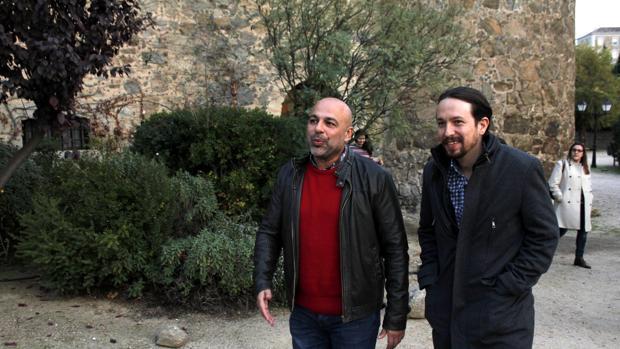 Pablo Iglesias da vía libre a García Molina para romper o no su pacto con Page