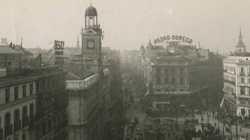 El reloj de Sol, en 1930