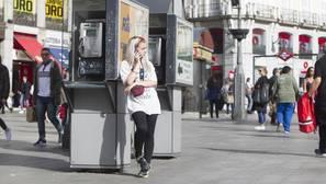 Las cabinas telefónicas se quedan sin saldo