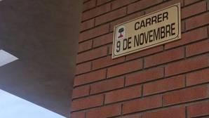 Mas inaugura la primera calle dedicada a la consulta soberanista