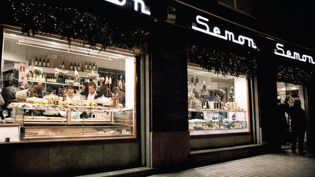 Escaparate de la tienda Semon