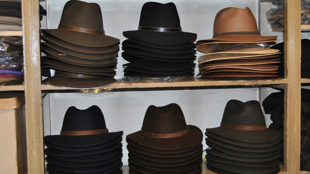 Nuevos modelos de sombreros de fieltro que se pliegan y no se deforman