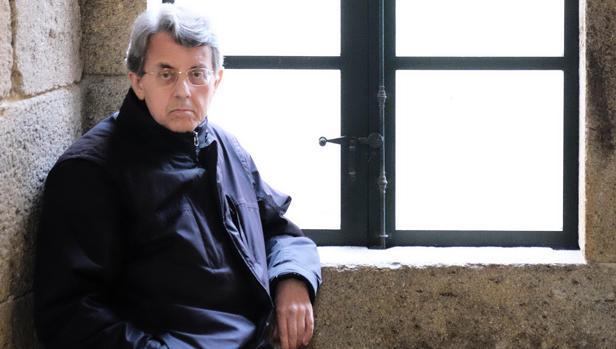 Antón Pazos, en el Instituto de Estudios Gallegos Padre Sarmiento