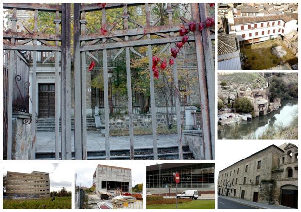 Los edificios olvidados de Toledo