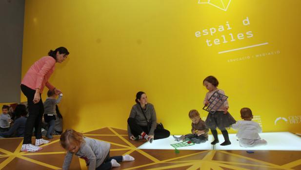 Imagen del espacio dedicado a bebés en el Centro del Carmen
