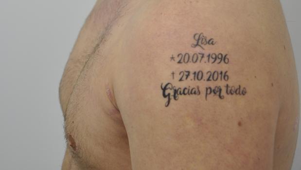 El macabro tatuaje que lucía el fugitivo alemán detenido en Lloret de Mar