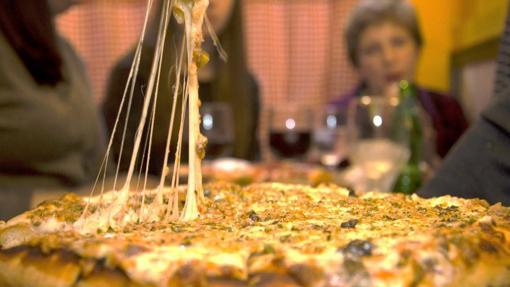 Pizzas de El Trébol, en la calle de la Cruz