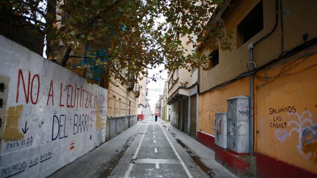 Imagen del barrio de El Cabanyal