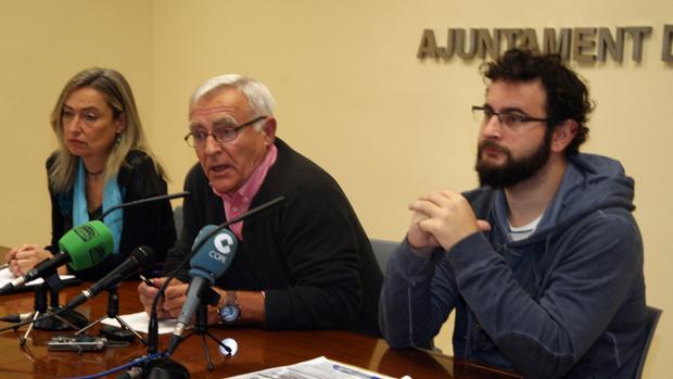 Imagen de Ribó tomada este lunes en el Ayuntamiento de Valencia