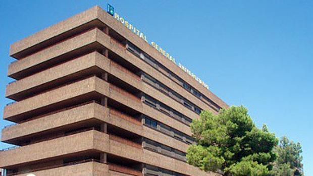 Fachada del hospital de Albacete