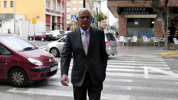 Luis Fernando Cartagena, este lunes en Paterna
