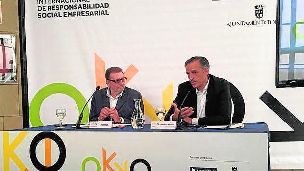 Jesús Ros y Francisco Bartual, en la presentación del congreso