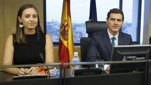 Albert Rivera junto a Melisa Rodríguez