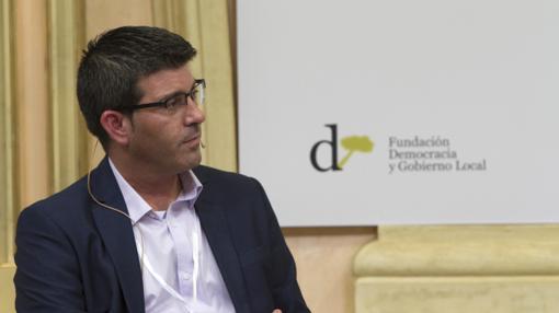 Imagen del presidente de la Diputación de Valencia