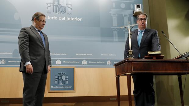Juan Ignacio Zoido y Gregorio Serrano