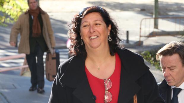 La segunda teniente de alcalde de Fuenlabrada (Madrid), María Teresa Fernández