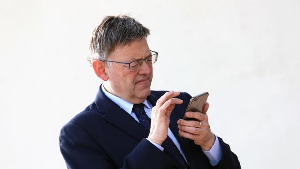 Imagen del presidente valenciano, Ximo Puig