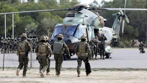 Podemos carga contra el Ejército por las maniobras antiterroristas y las califica de «juegos de guerra»