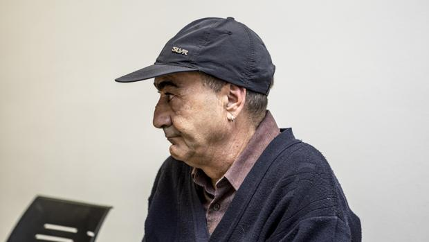 Imagen de Vicent Belenguer tomada en los juzgados de Paterna
