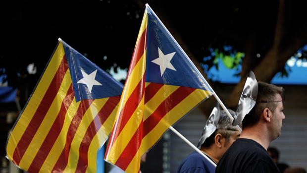Imagen de una manifestación convocada por ACPV en Valencia
