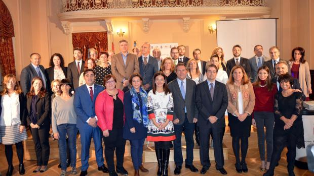 Los participantes en la Asamblea de la Red de Ciudades AVE en Ciudad Real