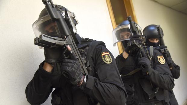 En la operación han participado agentes de los Grupos Especiales (Goes) de la Policía