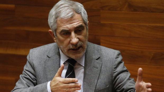 Gaspar Llamazares, ex coordinador federal de IU