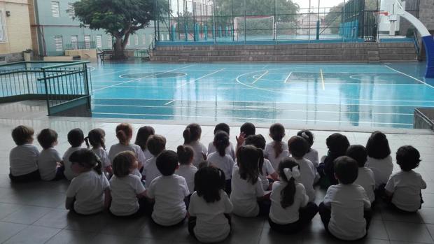 Escolares del Santa Teresa de Jesús de Las Palmas capital