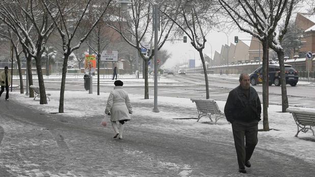 Activa la alerta por nevadas en Palencia y otras cinco provincias