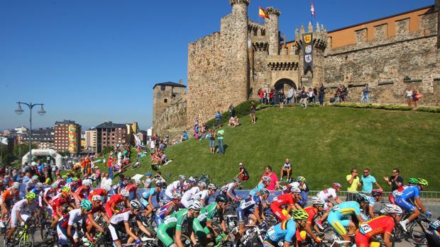 Prueba del Mundial de Ciclismo de Ponferrada, en una imagen de archivo